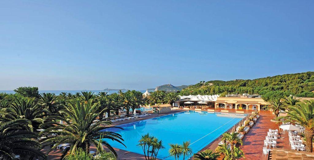 Godetevi gli hotel di lusso con piscina con Voyage Privè