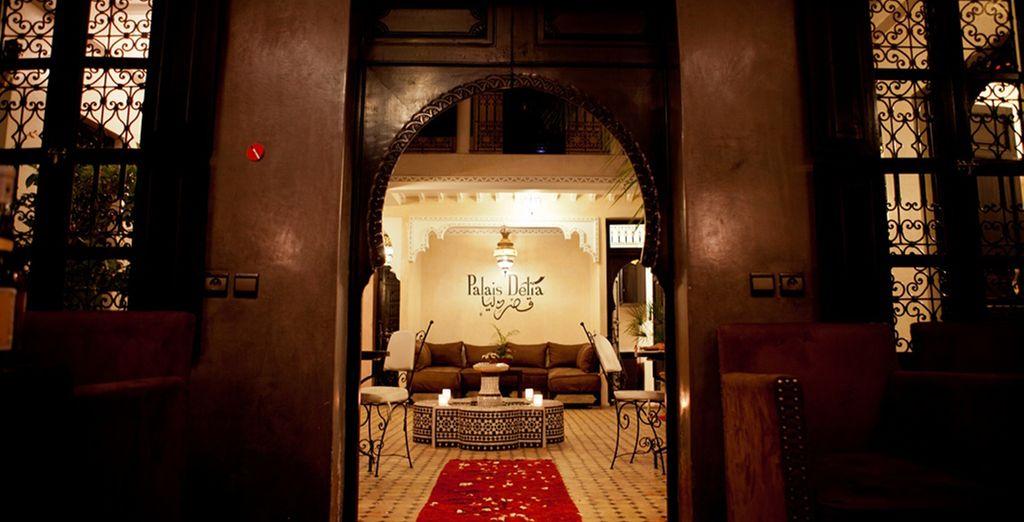 Entrate al Riad Palais Delia