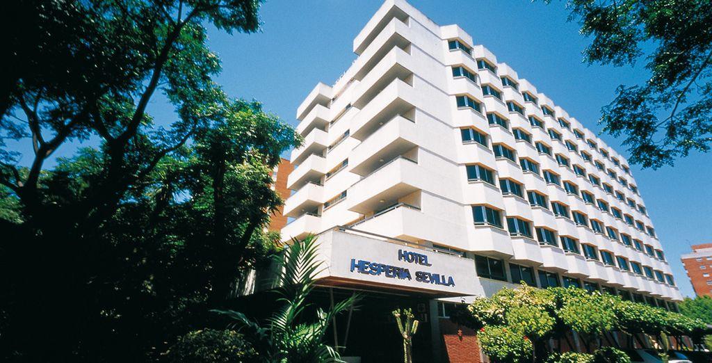 Il vostro Hotel Hesperia, un imponente hotel a 4*