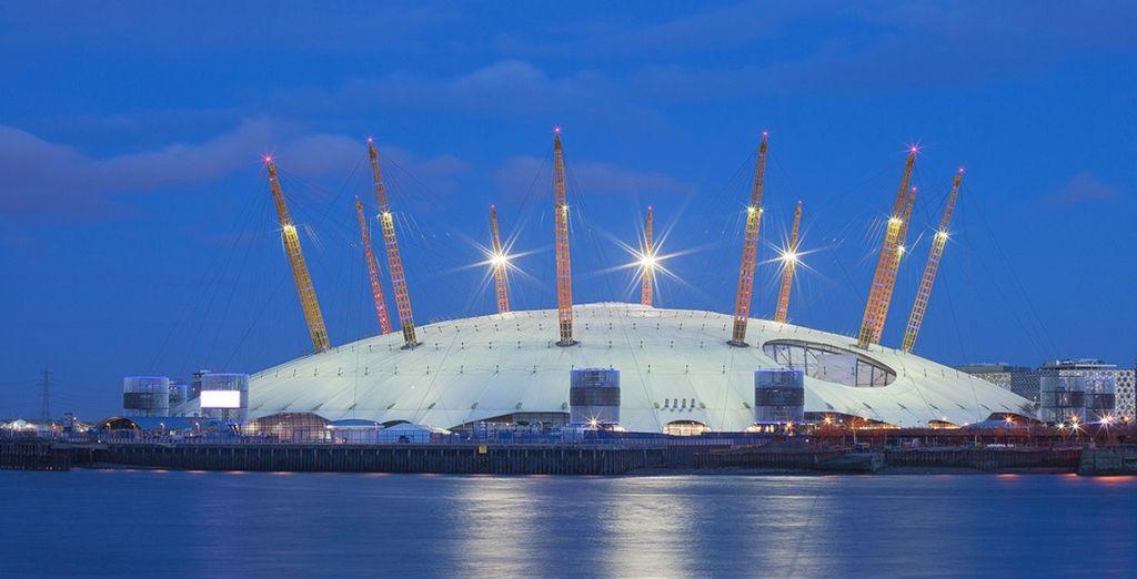 Nella splendida cornice dell'O2 Arena di Londra