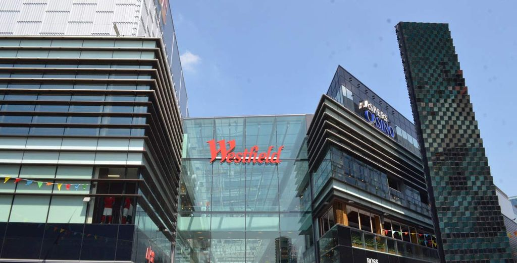 Non perdetevi fino al 20% di sconto al Westfield London Shopping center