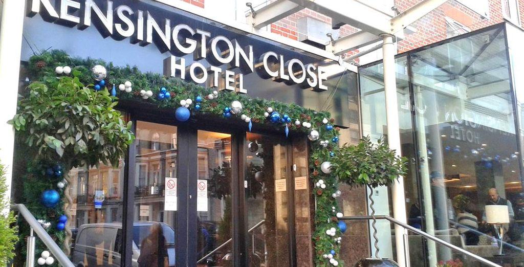 Soggiornando in un bellissimo hotel a Kensington