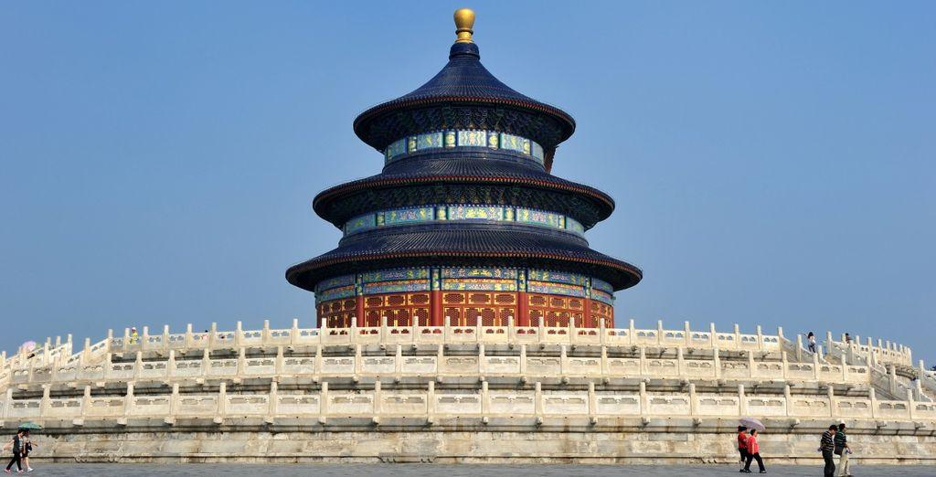 e il famoso Tempio del Cielo