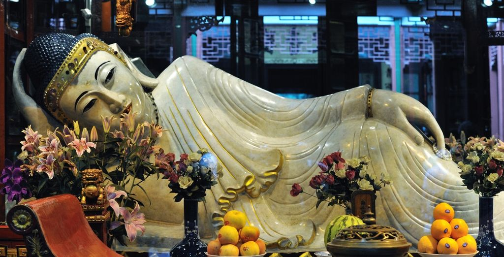 Immancabile una visita al Tempio del Buddha di Giada