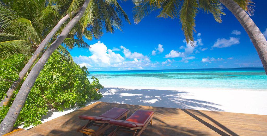 Rilassatevi su una delle spiagge più belle del mondo
