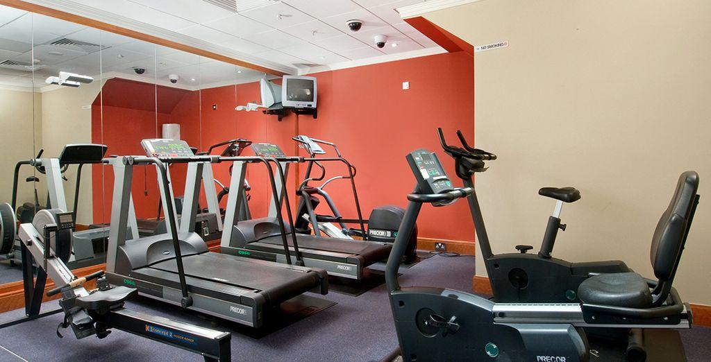 Mantenetevi in forma nel centro fitness dell'hotel