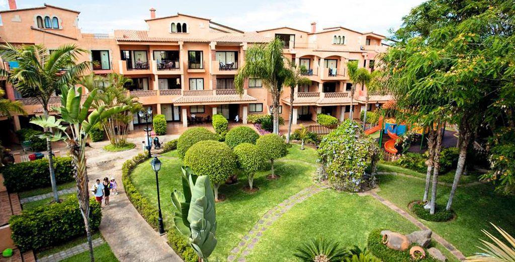 Ad aprirvi le porte c'è Villa Mandi Golf Resort