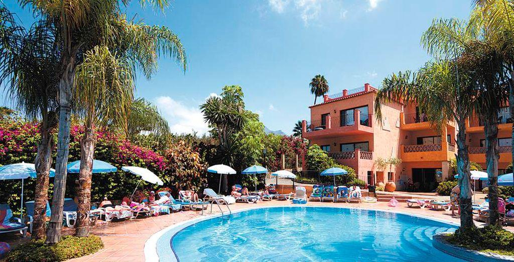 situato in una delle zone più belle di Playa de las Americas