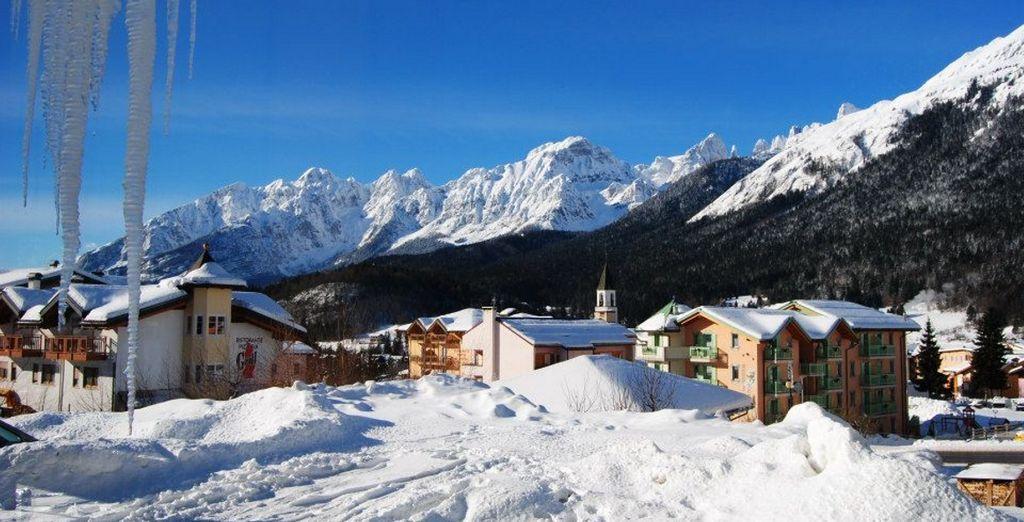 nella caratteristica località di Andalo, in Trentino