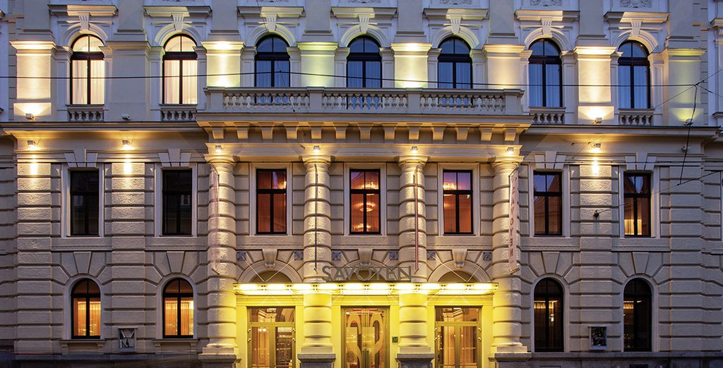 Benvenuti all'Austria Trend Savoyen Hotel