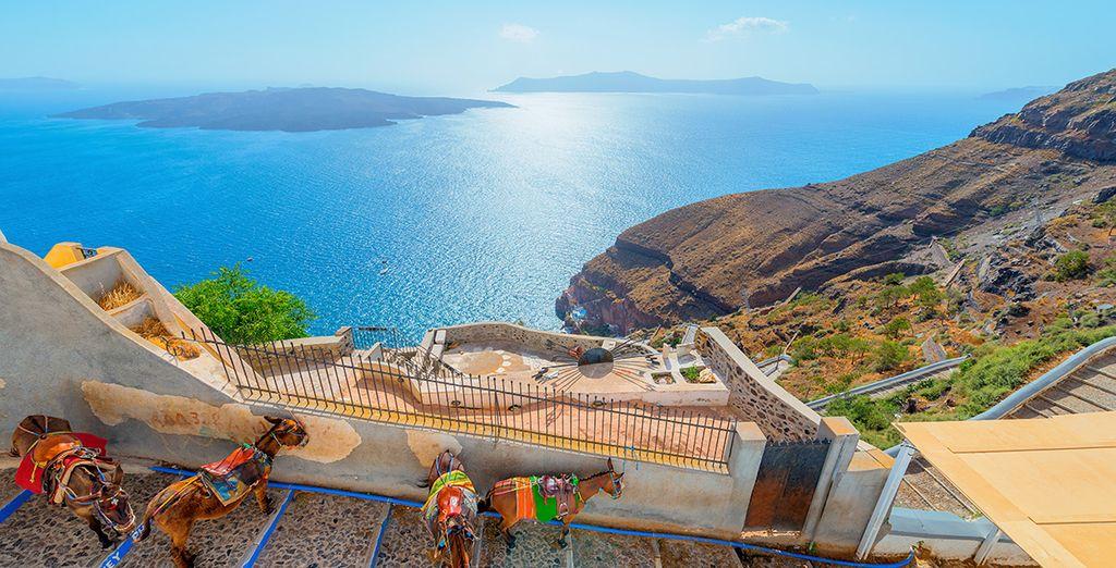 Partite per Santorini!