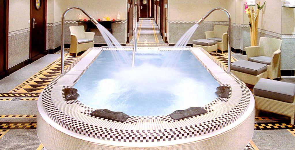 Scoprite la Spa Mosaïc con bagno turco, sauna e tanto altro