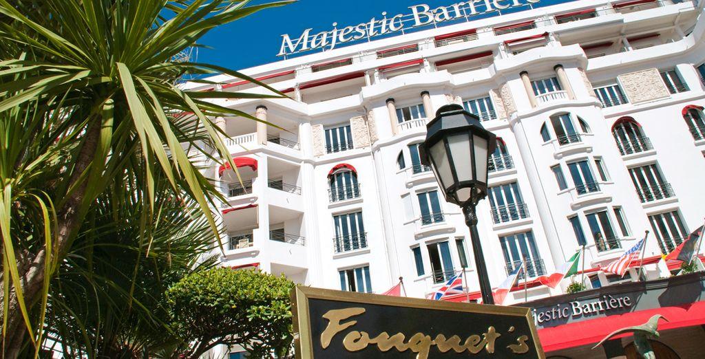 Soggiornerete in uno dei luoghi più famosi di Cannes