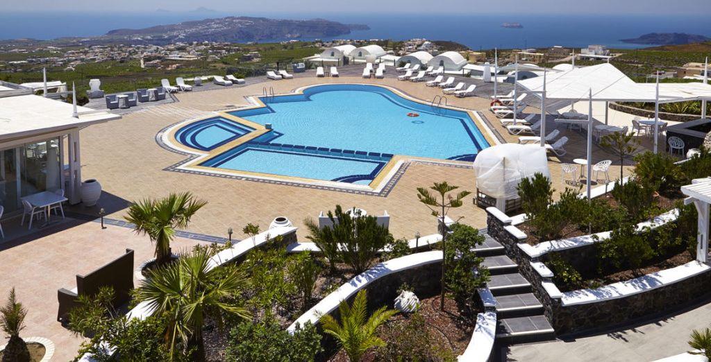 Orizontes Hotel & Villas 4* - pacchetti vacanze santorini