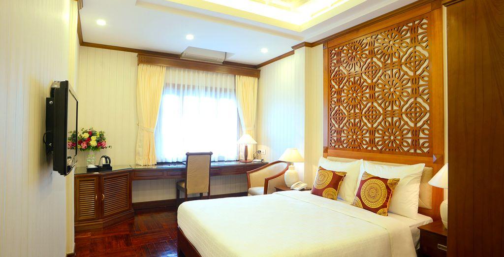 Durante il tour alloggerete in confortevoli hotel: Il Thien Thai Hotel 4* di Hanoi