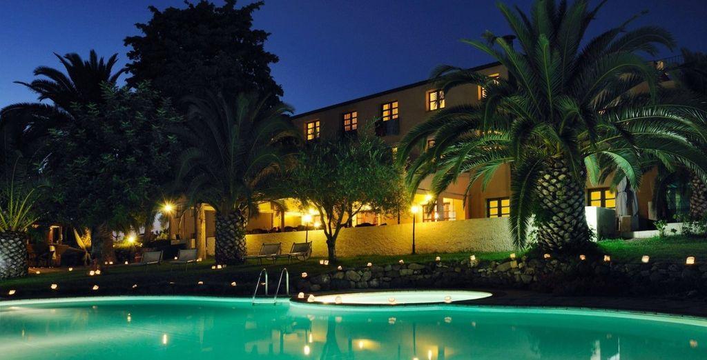 oggi elegante hotel dedicato agli amanti del comfort e del relax