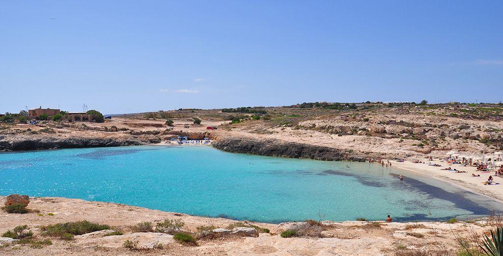 Ammirate i panorami unici che solo Lampedusa può offrire