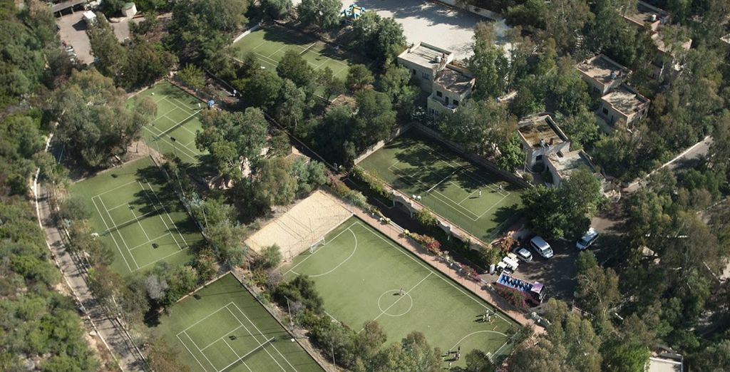 Il Telis ospita innumerevoli strutture sportive