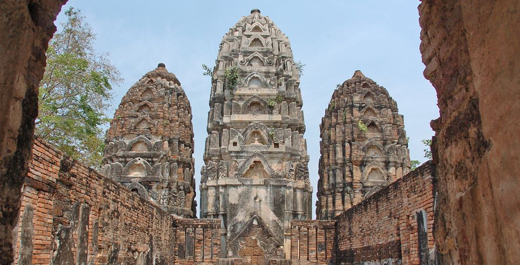 Dove le antiche rovine della città richiamano tempi passati