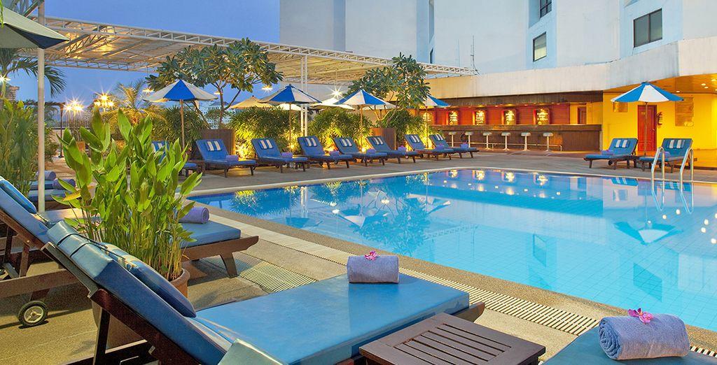 A Chang Mai soggiornerete presso l'Holiday Inn 4*