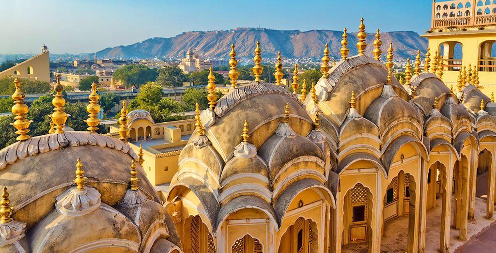 Partirete poi alla volta di Jaipur