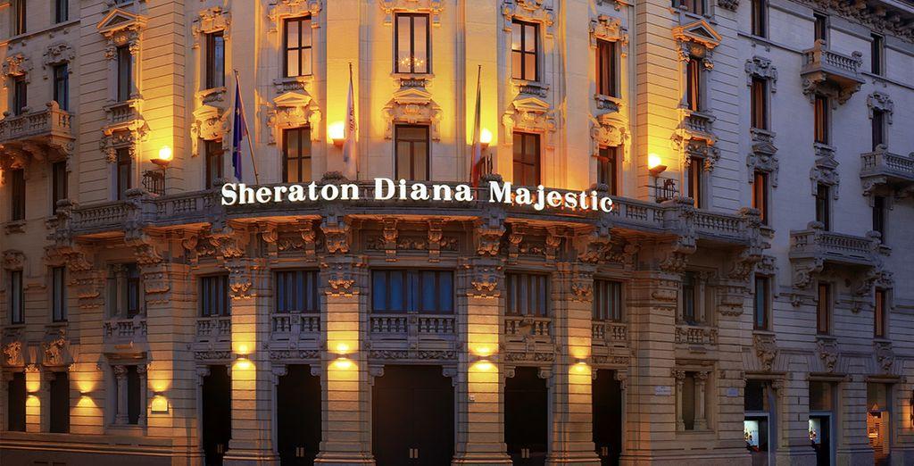 Benvenuti al Sheraton Diana Majestic 4 *