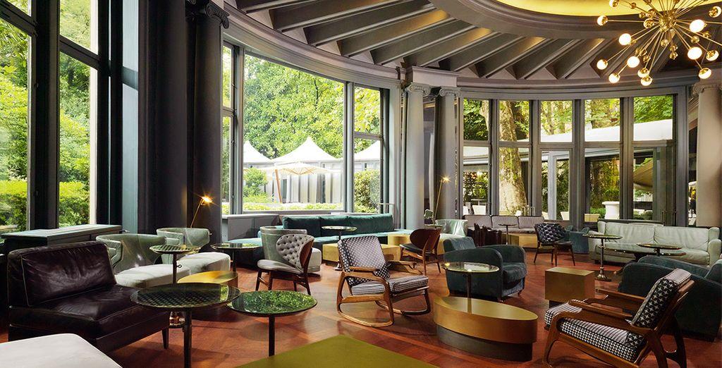 Un'affascinante hotel nella capitale della moda vi aspetta