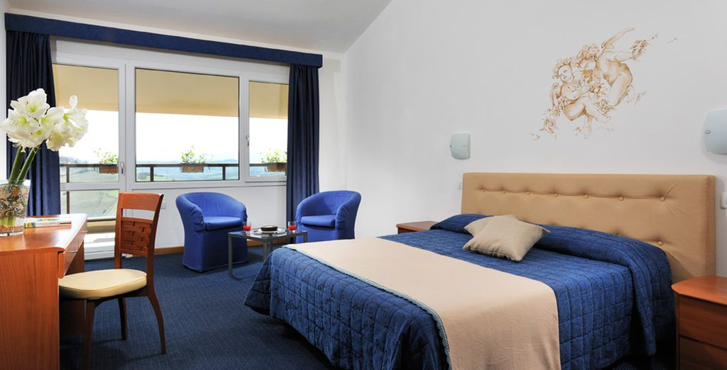 La vostra confortevole camera