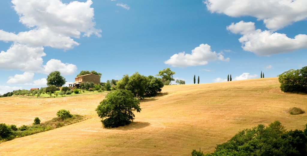 Vi aspettano panorami unici in Toscana: una meta perfetta per un soggiorno all'insegna del relax.