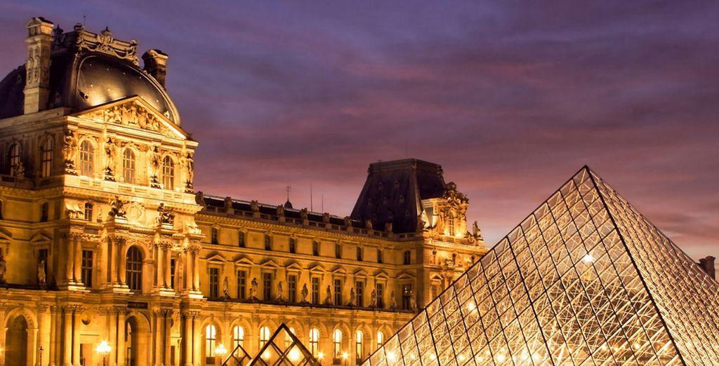 Il vostro soggiorno vi regalarà l'occasione di conoscere le meraviglie di Parigi