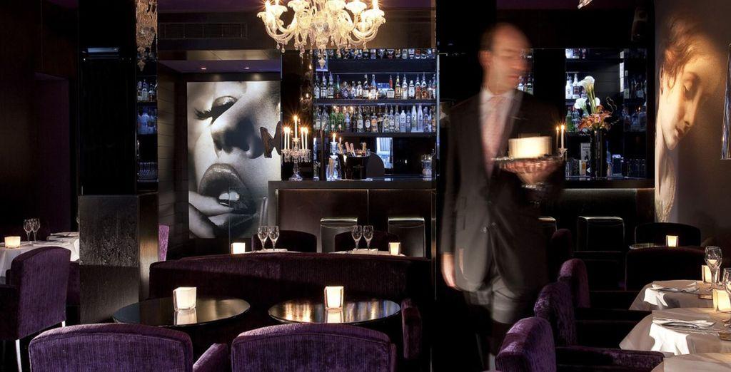 Recatevi presso il Restaurant Le Daniel, dall'atmosfera intima ed elegante