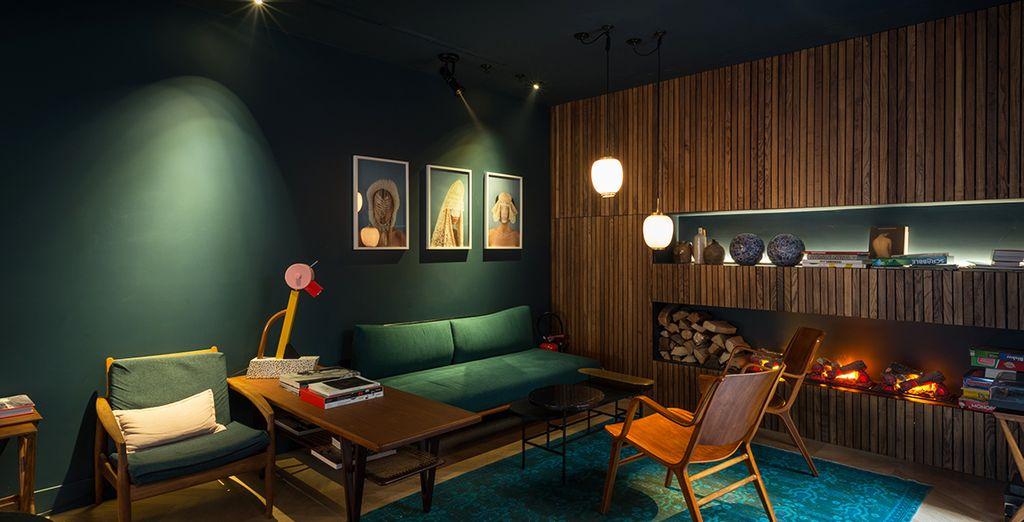Un moderno hotel 4* dagli interni eleganti