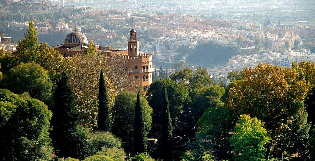 Granada  e i suoi paesaggi unici