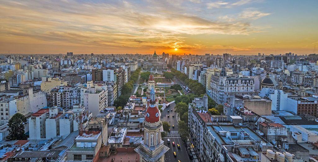 Prima tappa è la bellissima Buenos Aires