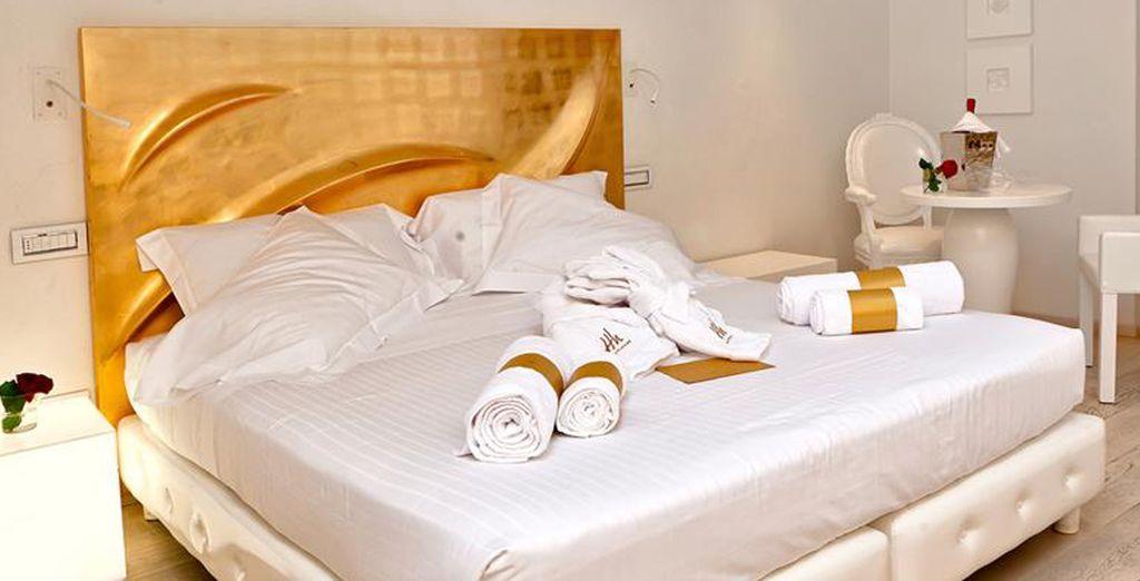 Nelle vostre eleganti camere standard, una combinazione ideale di stile e comfort