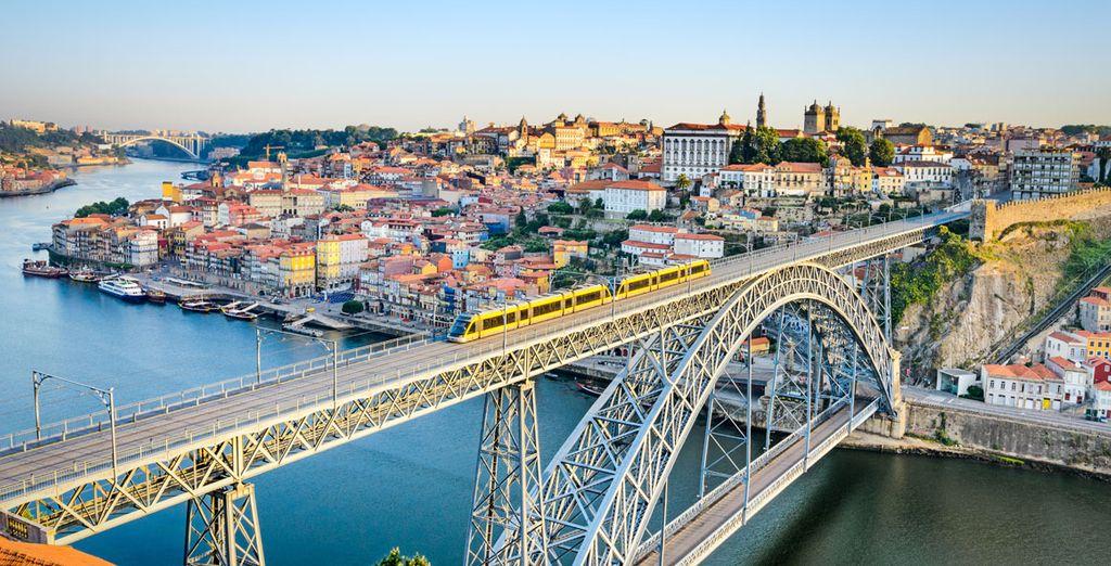 Benvenuti a Porto, splendida città del Portogallo