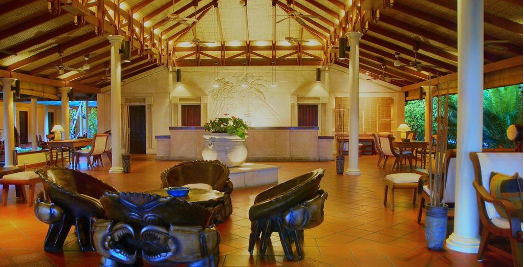 Soggiornerete nello splendido Royal Island Resort & Spa