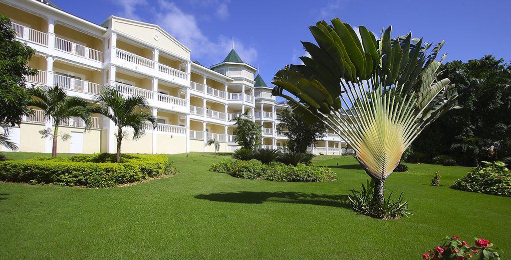 Un moderno resort vi attende