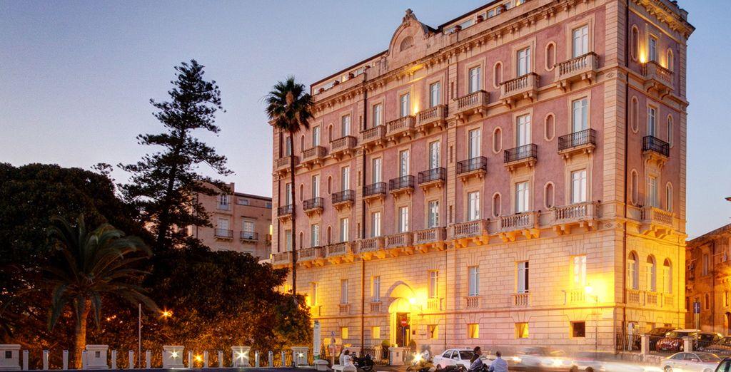 Des trangers hotel spa 5 voyage priv fino a 70 for Hotel des etrangers siracusa