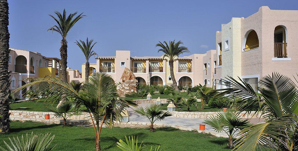 Iin uno splendido resort 5*
