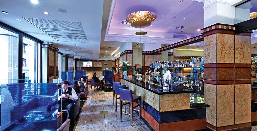 ...gustate ottimi cocktail in un ambiente raffinato