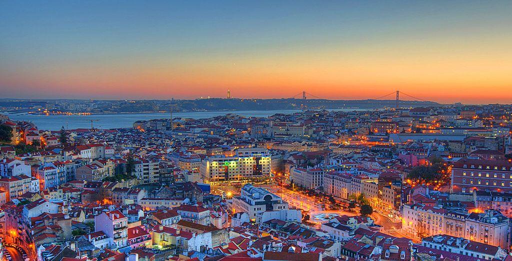 Nell'affascinante Lisbona