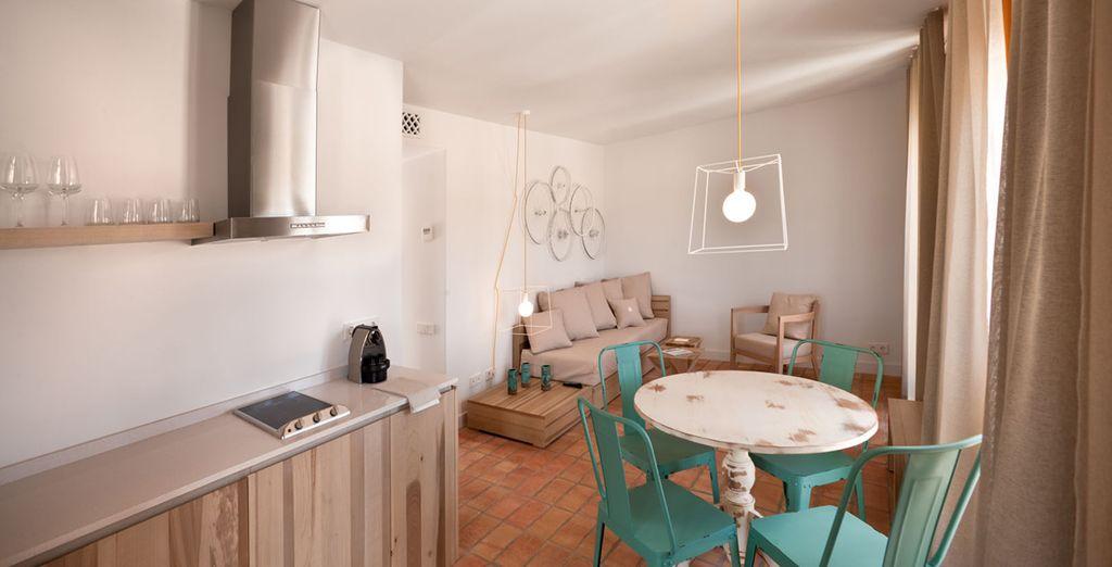 La modernità e il comfort si combinano per regalarvi un soggiorno di piacere