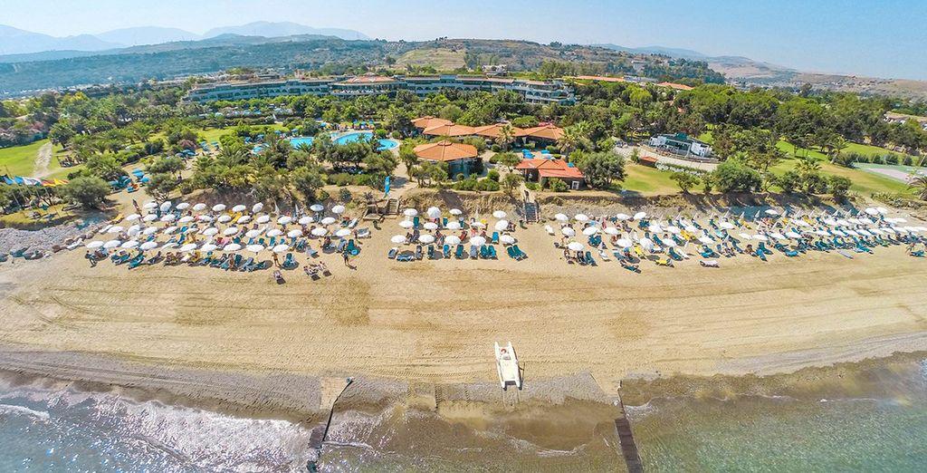 Trascorrete le vostre giornate presso la spiaggia privata