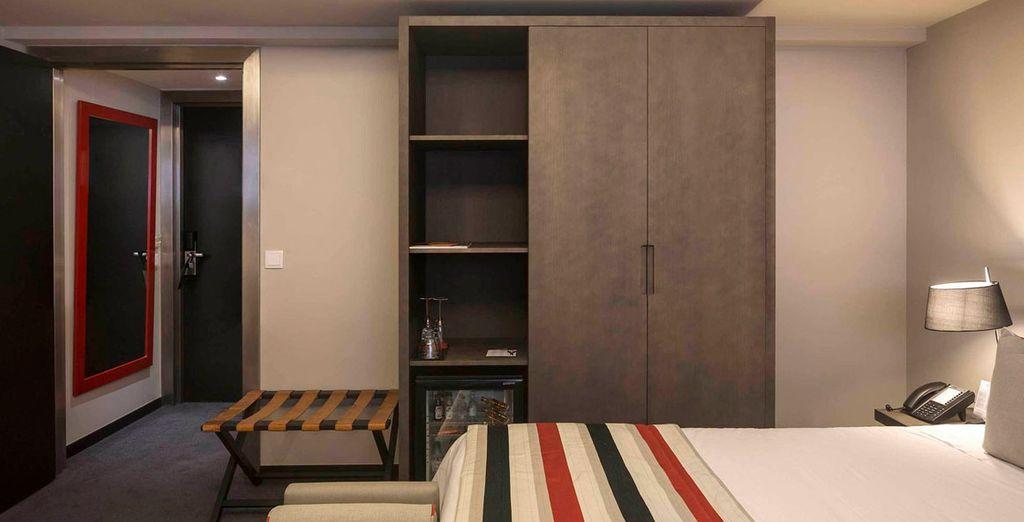Prendete posto in una confortevole camera Classic