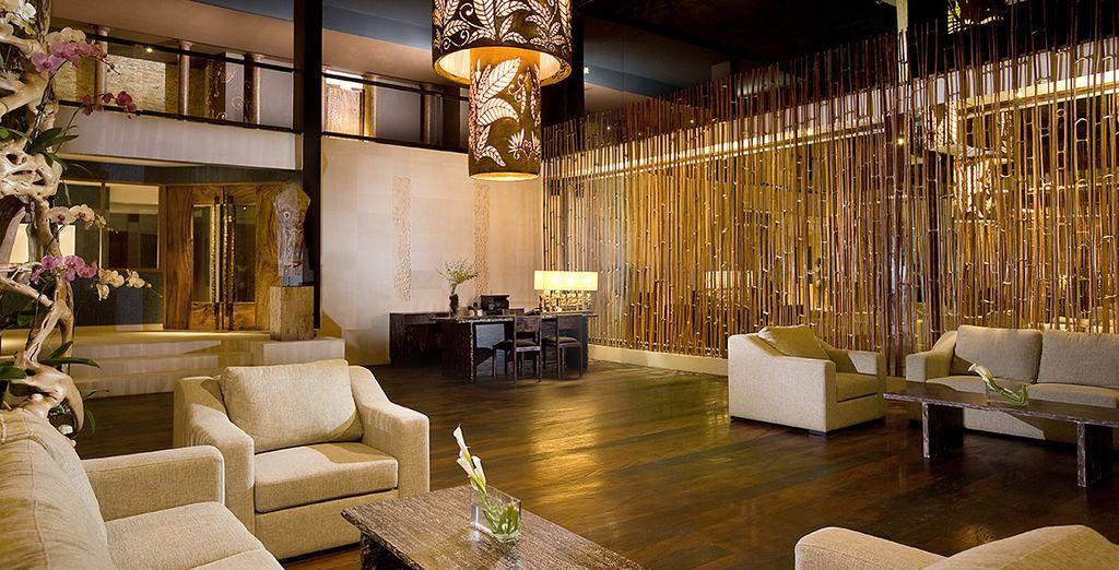Questa struttura di design vanta uno splendore architettonico per offrire agli ospiti un'esperienza unica di vacanza