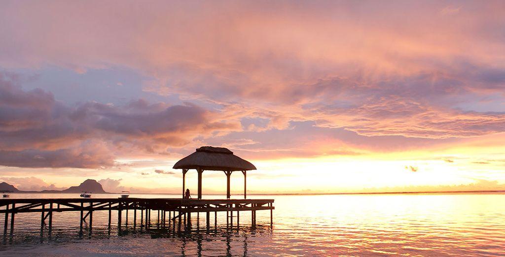 Ammirate i meravigliosi e magici tramonti dell'isola