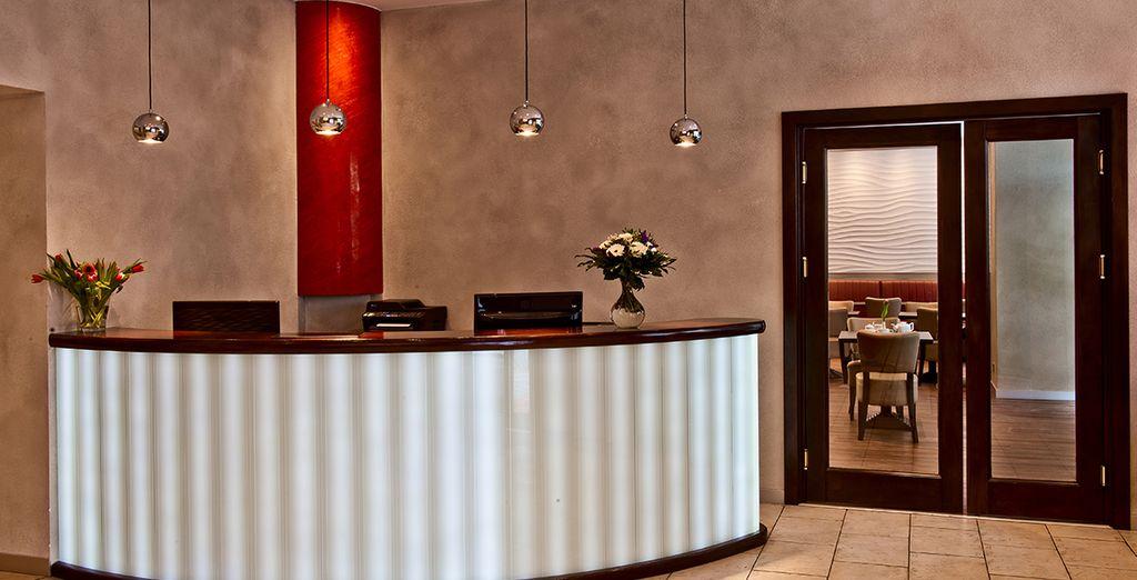 Un hotel dal design moderno
