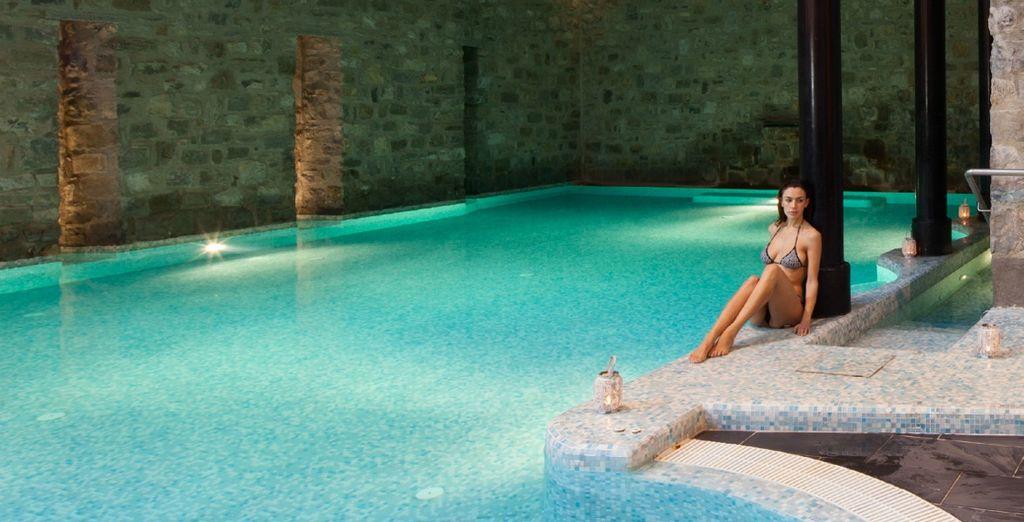 Un suggestivo hotel wellness dove rilassarsi
