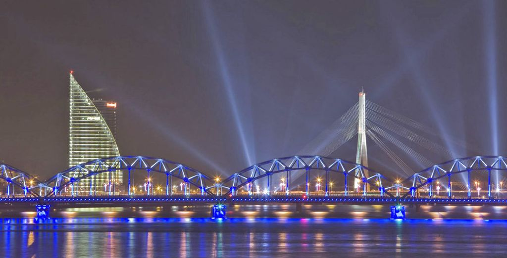 Il vostro itinerario vi porterà a Riga
